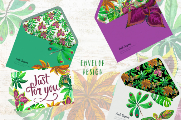 Exotic Tropical Set PNG Watercolor Graphic By MyStocks Image 7