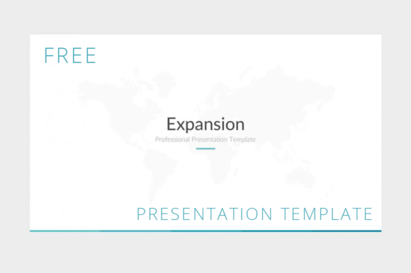 Expansion Powerpoint Presentation Template Graphic Presentation Templates By Creative Fabrica Freebies