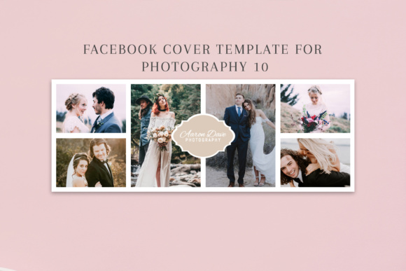 Print on Demand: Facebook Cover Template for Fashion Photography Graphic Websites By Creative Tacos