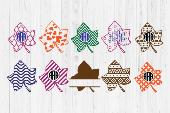 Download Free Fall Leaves Cut Files Graphic By Cutperfectstudio Creative Fabrica for Cricut Explore, Silhouette and other cutting machines.