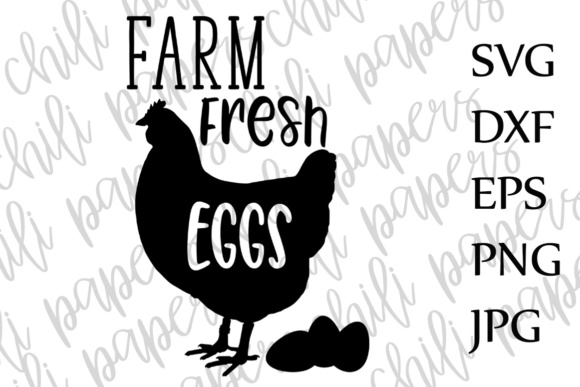 Download Free Farm Fresh Eggs Svg Farmhouse Sign Svg Cricut Svg Files Svg SVG Cut Files