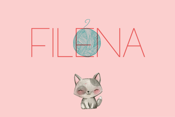 Filena Sans Serif Font By Corgi Astronaut