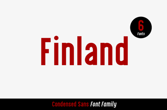 Print on Demand: Finland Sans Serif Font By craftsupplyco