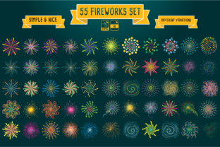 Fireworks Illustrations Graphic By luluimanda82