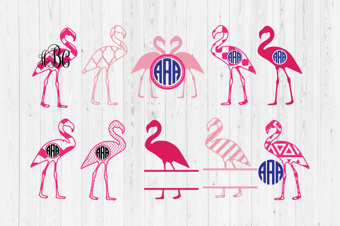 Download Free Flamingo Files Graphic By Cutperfectstudio Creative Fabrica for Cricut Explore, Silhouette and other cutting machines.