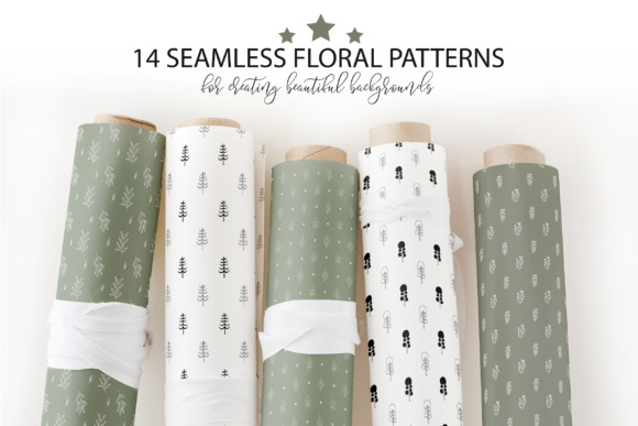 Floral Seamless Patterns Collection Graphic Patterns By switzershop