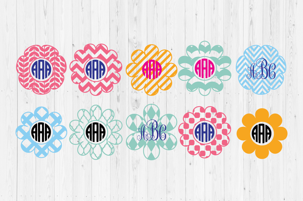 Download Free Flower Frame Svg Cut Files Graphic By Cutperfectstudio for Cricut Explore, Silhouette and other cutting machines.