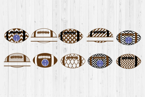Download Free Football Files Graphic By Cutperfectstudio Creative Fabrica for Cricut Explore, Silhouette and other cutting machines.