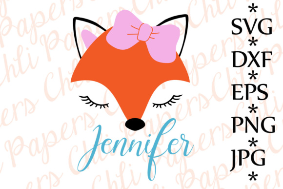 Fox SVG Graphic Crafts By ChiliPapers
