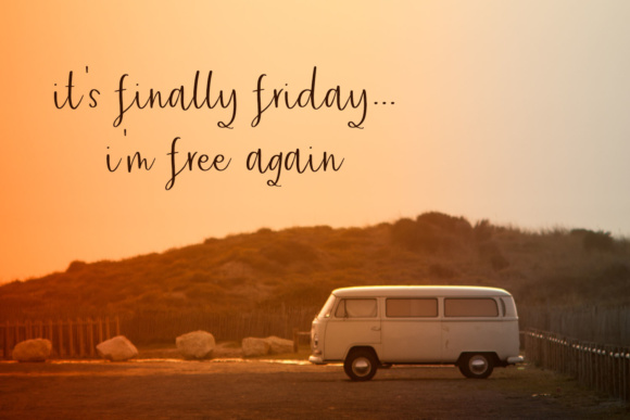 Friday Vibes Font Image