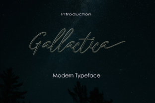Gallactica Font By Analogous