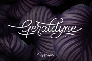 Geraldyne Font By Weape Design
