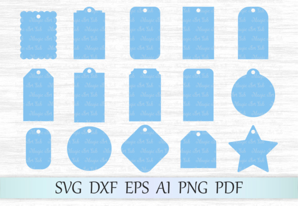 Gift Tags SVG Graphic Crafts By MagicArtLab