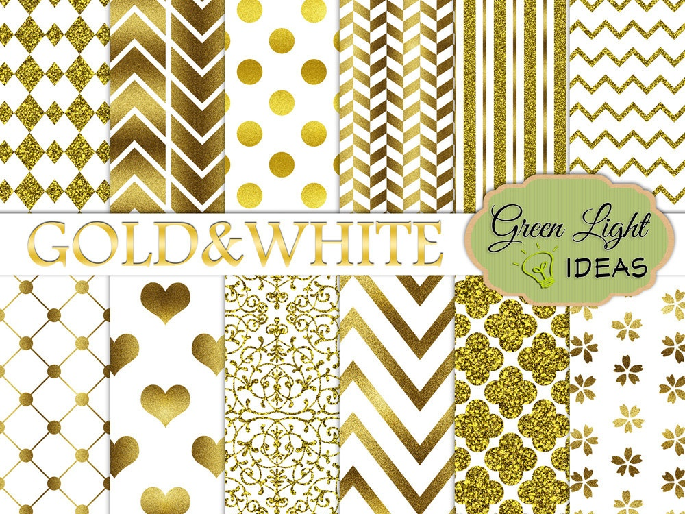 Download Free Gold And White Digital Papers Gold Glitter Wedding Backgrounds for Cricut Explore, Silhouette and other cutting machines.