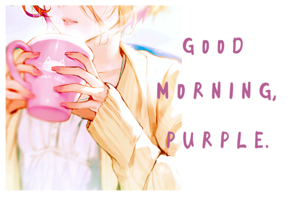 Download Free Good Morning Purple Font By Guiltype Creative Fabrica for Cricut Explore, Silhouette and other cutting machines.