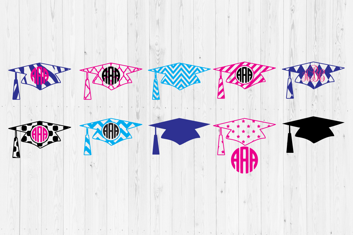 Download Free Graduation Hat Cut Files Graphic By Cutperfectstudio Creative for Cricut Explore, Silhouette and other cutting machines.