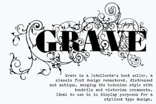 Grave Font By Intellecta Design