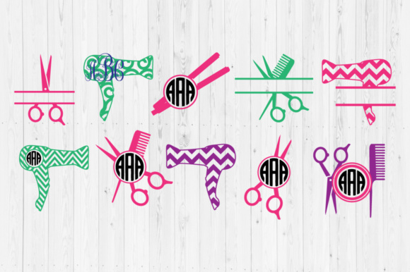 Download Free Hairdresser Cut Files Graphic By Cutperfectstudio Creative Fabrica for Cricut Explore, Silhouette and other cutting machines.