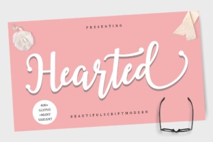 Hearted Script Font By Musafir LAB