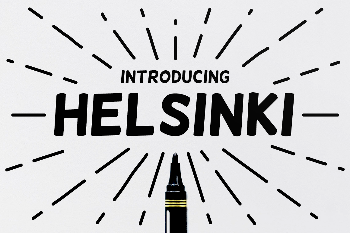 Download Free Helsinki Font By Creative Fabrica Freebies Creative Fabrica for Cricut Explore, Silhouette and other cutting machines.
