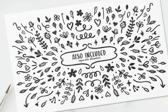 Print on Demand: Hola Bisou Family Script & Handwritten Font By By Lef - Image 11