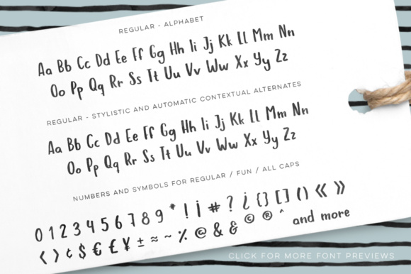 Print on Demand: Hola Bisou Family Script & Handwritten Font By By Lef - Image 6