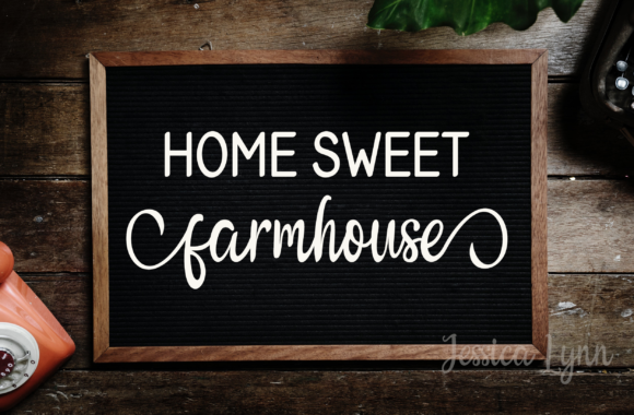 Print on Demand: Home Sweet Farmhouse Graphic Crafts By Jessica Maike