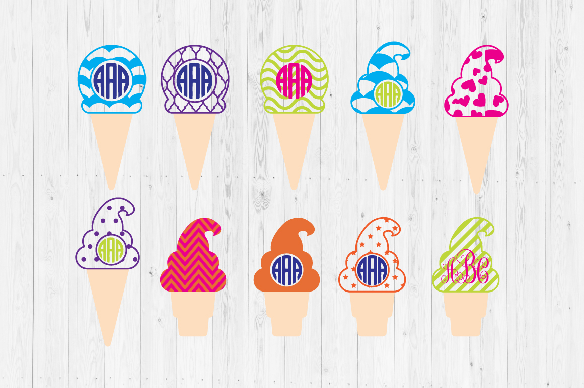 Download Free Ice Cream Cut Files Graphic By Cutperfectstudio Creative Fabrica for Cricut Explore, Silhouette and other cutting machines.