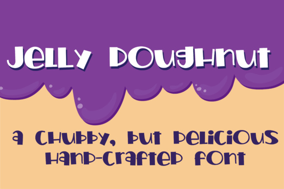 Print on Demand: Jelly Doughnut Script & Handwritten Font By Illustration Ink