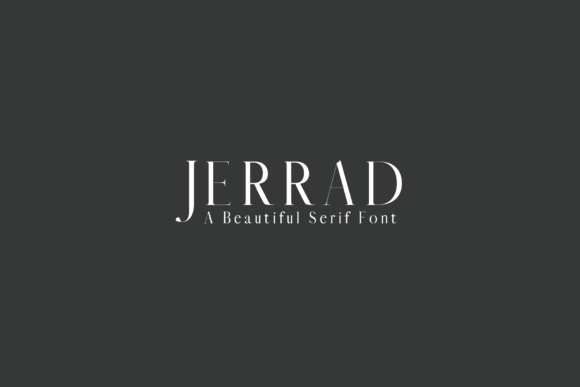 Print on Demand: Jerrad Serif Font By Creative Tacos - Image 1