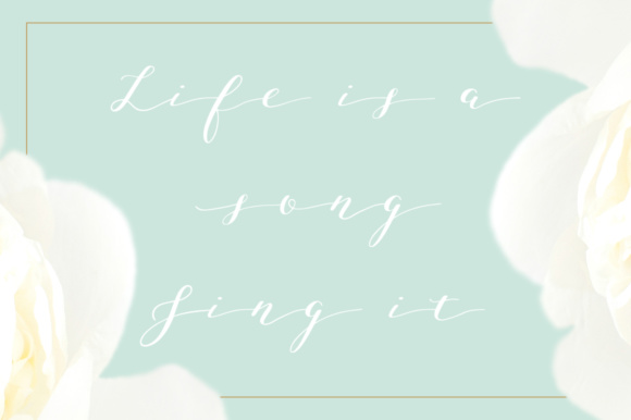 Print on Demand: Joleni Script & Handwritten Font By By Lef - Image 7