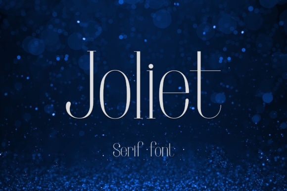 Print on Demand: Joliet Serif Font By Corgi Astronaut