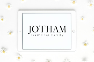 Jotham Font By Creative Tacos