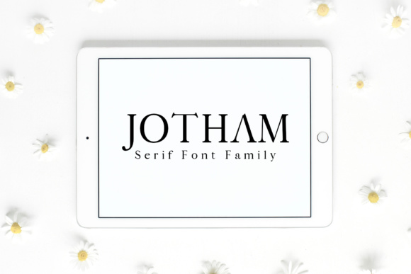 Print on Demand: Jotham Serif Font By Creative Tacos