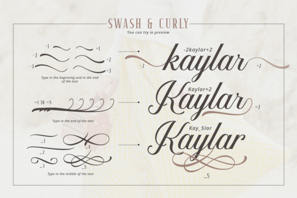 Kaylar Duo Font By letterhend Image 7