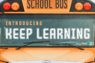 Keep Learning Font By Silhouette America, Inc.