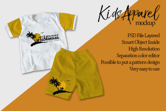 Kids Apparel Mock Up Graphic Product Mockups By gumacreative