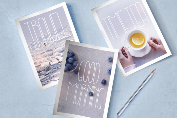 Lightbon Font By Happy Letters Image 2