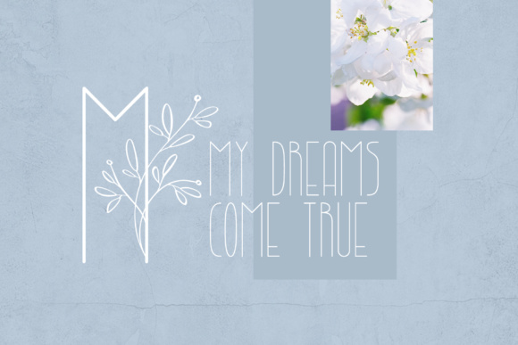 Lightbon Font By Happy Letters Image 5