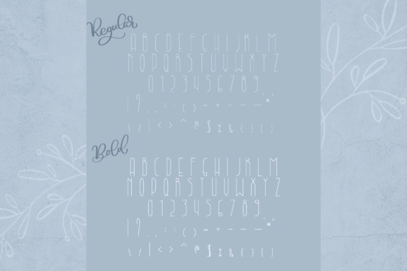 Lightbon Font By Happy Letters Image 6