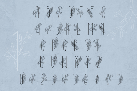 Lightbon Font By Happy Letters Image 7