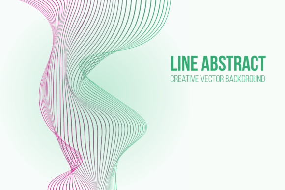 Line Abstract Vector Background Graphic Backgrounds By hellokisdottir