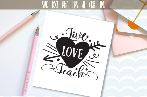 Download Free Live Love Teach Svg Cut File Graphic By Vector City Skyline for Cricut Explore, Silhouette and other cutting machines.