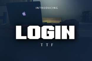 Login Display Font By vladimirnikolic