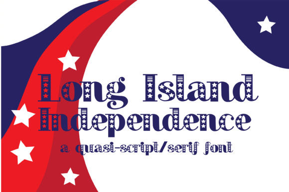 Print on Demand: Long Island Independence Script & Handwritten Font By Illustration Ink