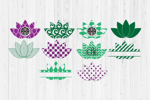 Lotus Cut Files Graphic Crafts By Cutperfectstudio