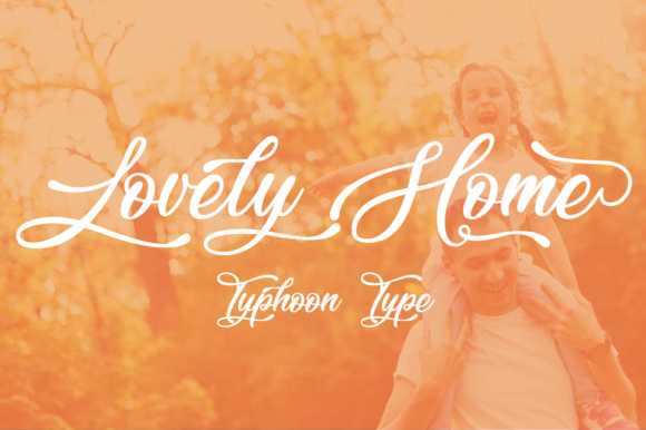 Print on Demand: Lovely Home Script & Handwritten Font By Typhoon Type - Suthi Srisopha