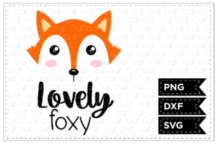 Lovely Foxy Graphic By Craf Craf