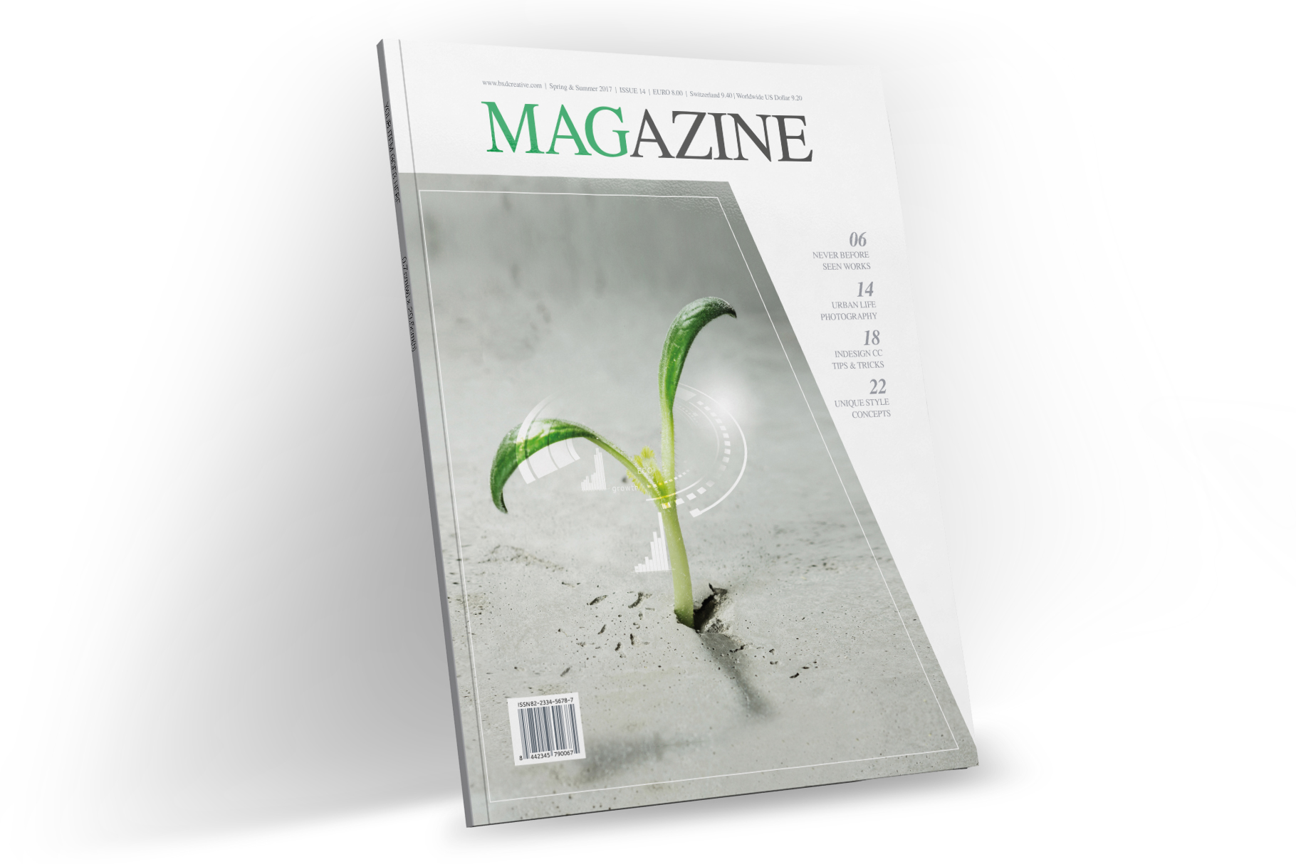 Magazine Template Indesign Graphic By Mogheess Creative Fabrica