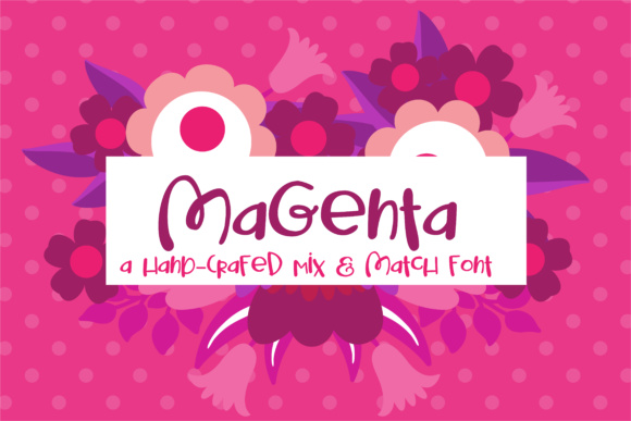 Print on Demand: Magenta Script & Handwritten Font By Illustration Ink